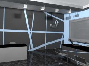 интерьер и дизайн офиса 1 Страховая компания – 01