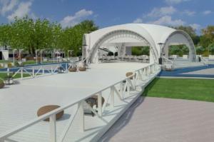 дизайн открытой площадки и бассейна для Royal Bar. АртДеп – 01