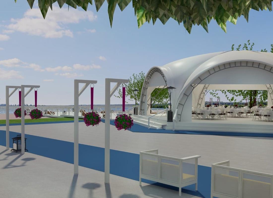 дизайн открытой площадки и бассейна для Royal Bar. АртДеп – 02