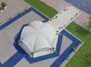 дизайн открытой площадки и бассейна для Royal Bar. АртДеп – 03
