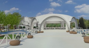 дизайн открытой площадки и бассейна для Royal Bar. АртДеп – 06