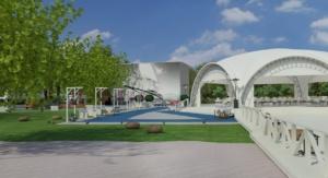 дизайн открытой площадки и бассейна для Royal Bar. АртДеп – 07