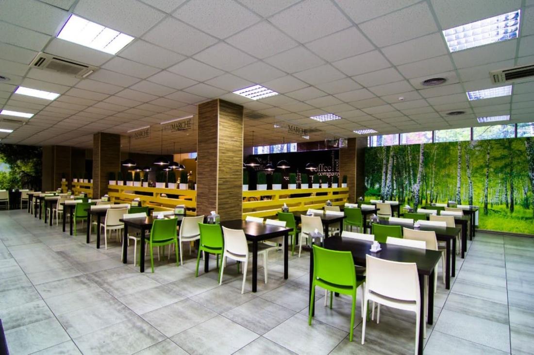 интерьер корпоративного ресторана БЦ по ул. Смирновской. АртДеп – 02