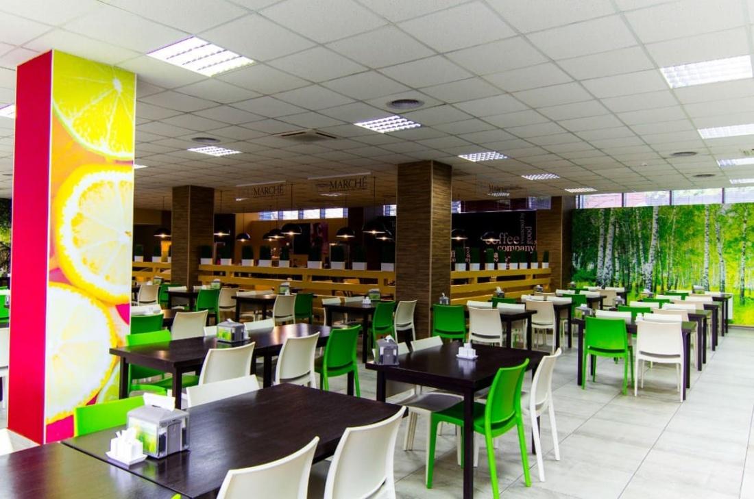 интерьер корпоративного ресторана БЦ по ул. Смирновской. АртДеп – 10