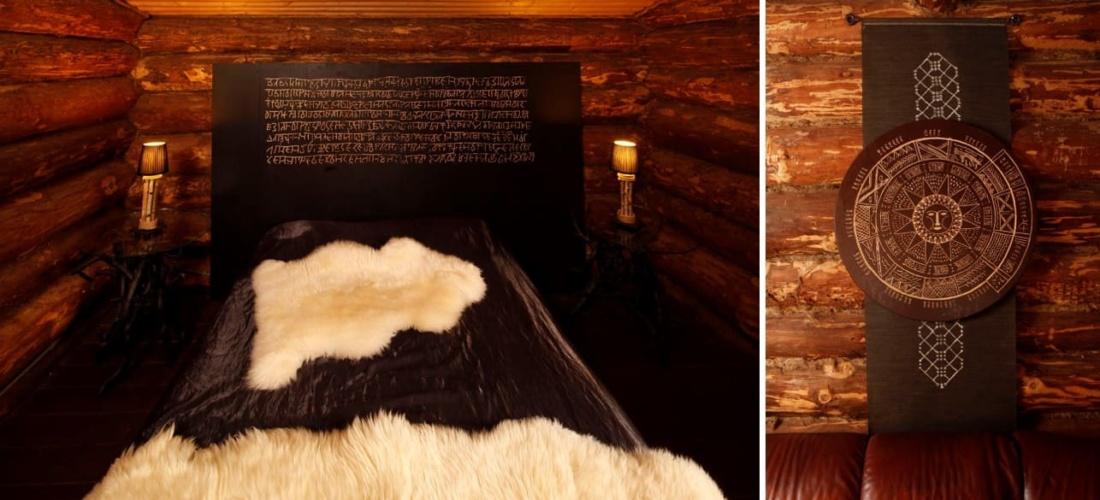 дизайн банного комплекса «Таёжные дали». АртДеп – 03