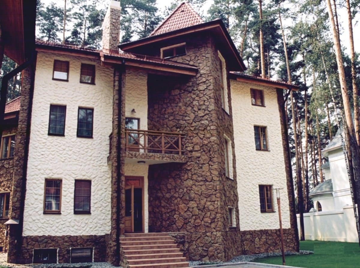 фото дизайна и интерьера частного дома 350 – 01