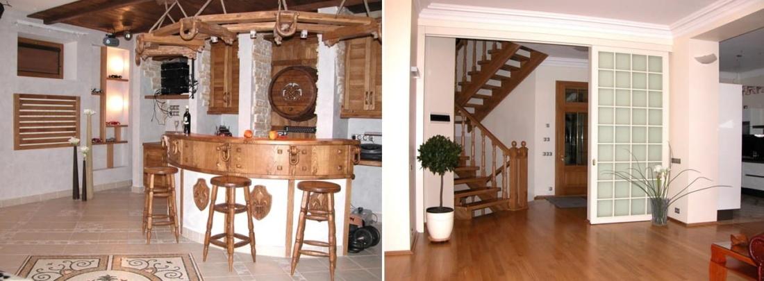 фото дизайна и интерьера частного дома 350 – 04