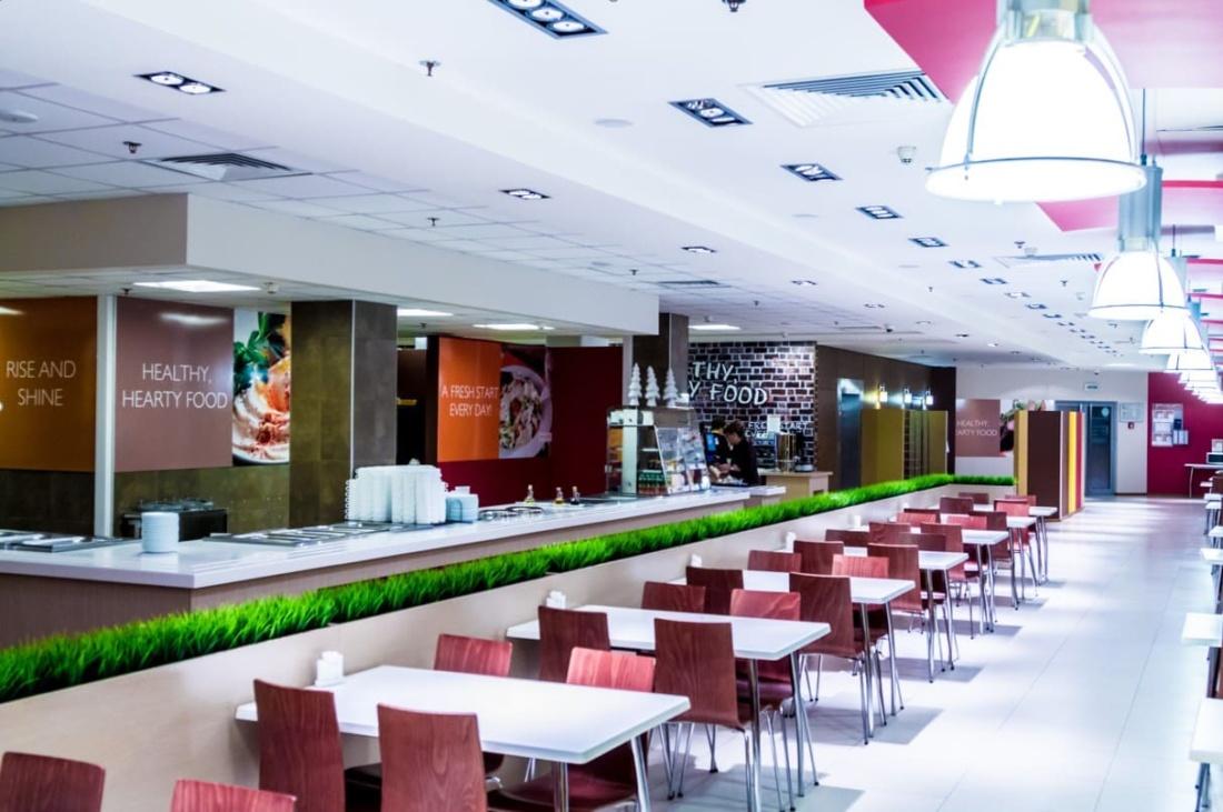 интерьер корпоративного ресторана для EUREST. АртДеп – 02