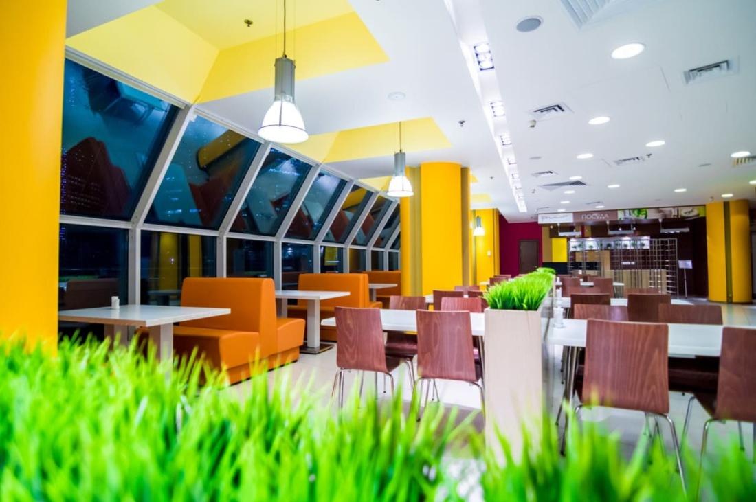 интерьер корпоративного ресторана для EUREST. АртДеп – 03