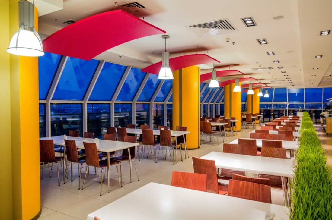 интерьер корпоративного ресторана для EUREST. АртДеп – 06