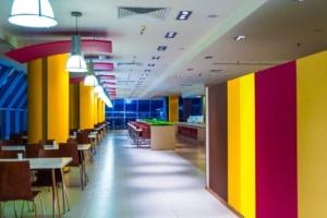интерьер корпоративного ресторана для EUREST. АртДеп – 07