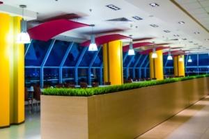 интерьер корпоративного ресторана для EUREST. АртДеп – 08