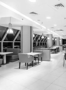 интерьер корпоративного ресторана для EUREST. АртДеп – 09