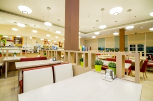 интерьер корпоративного ресторана в бизнес-центре 32 – 14. АртДеп – 02