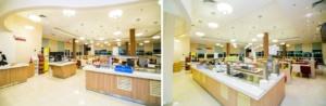 интерьер корпоративного ресторана в бизнес-центре 32 – 14. АртДеп – 03