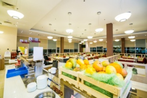 интерьер корпоративного ресторана в бизнес-центре 32 – 14. АртДеп – 04