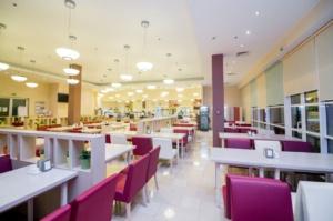 интерьер корпоративного ресторана в бизнес-центре 32 – 14. АртДеп – 11