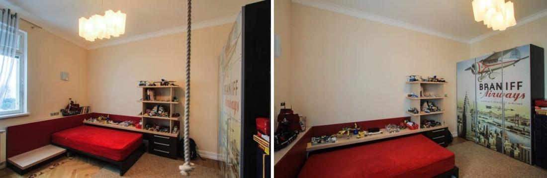 интерьер и перепланировка квартиры на улице Удальцова, АртДеп – 06