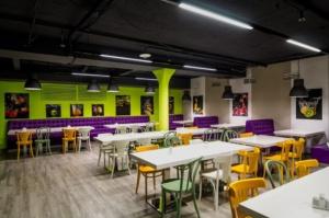 интерьер корпоративного ресторана БЦ «ПОЛИШЕЛК». АртДеп – 11