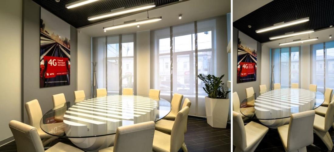 Вестибюль офиса компании ПАО «МТС». АртДеп – 08