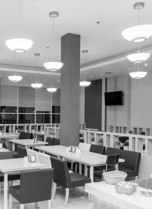 интерьер корпоративного ресторана в бизнес-центре 32 – 14. АртДеп – 12