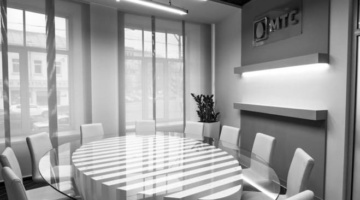 Вестибюль офиса компании ПАО «МТС»